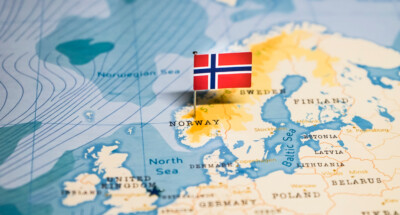The,Flag,Of,Norway,In,The,World,Map