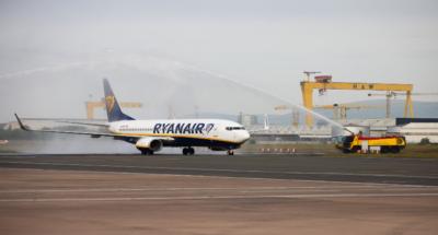 Ryanair at Belfast City