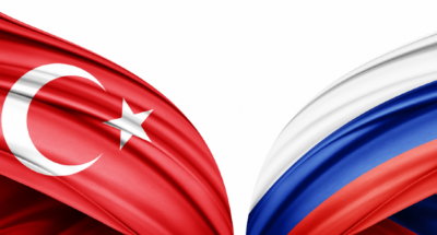 Turkey and Moscow Flag