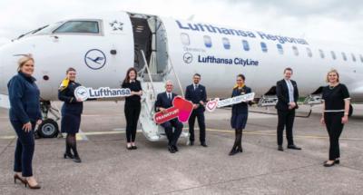 Lufthansa Frankfurt to Cork