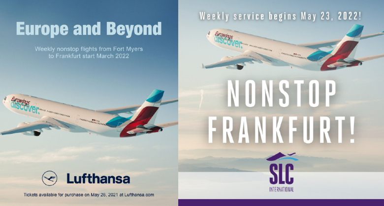 Lufthansa promotion photo