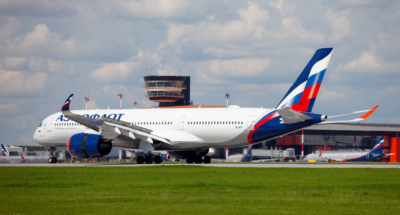 Aeroflot A350 at SVO