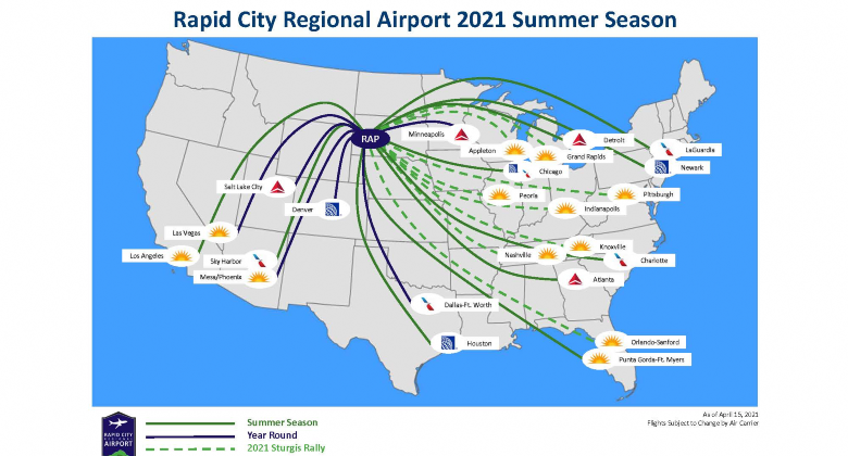 Summer 21 Route Map