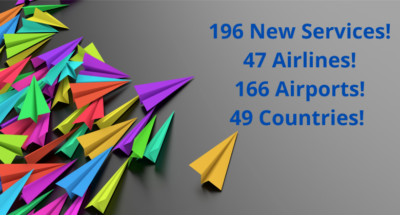 196 new services