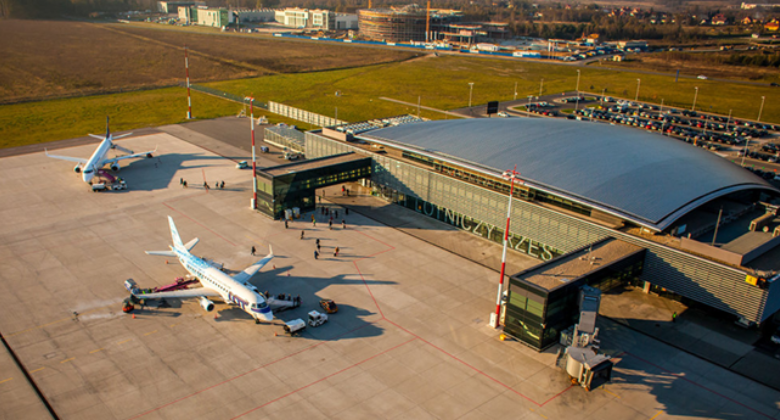 RZE terminal and apron